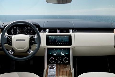 Range Rover MY2018 interior