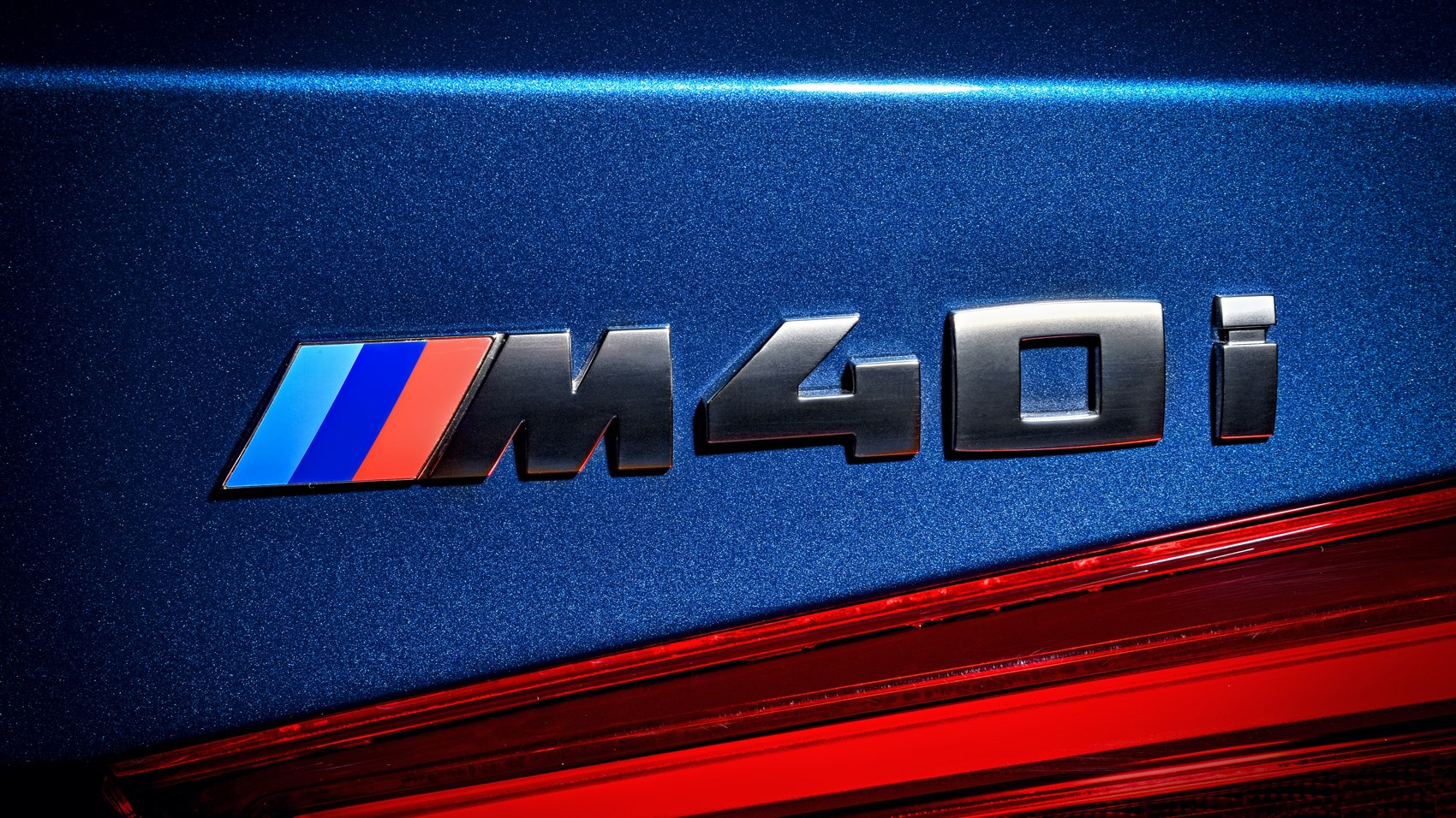 BMW X3 M40i badge