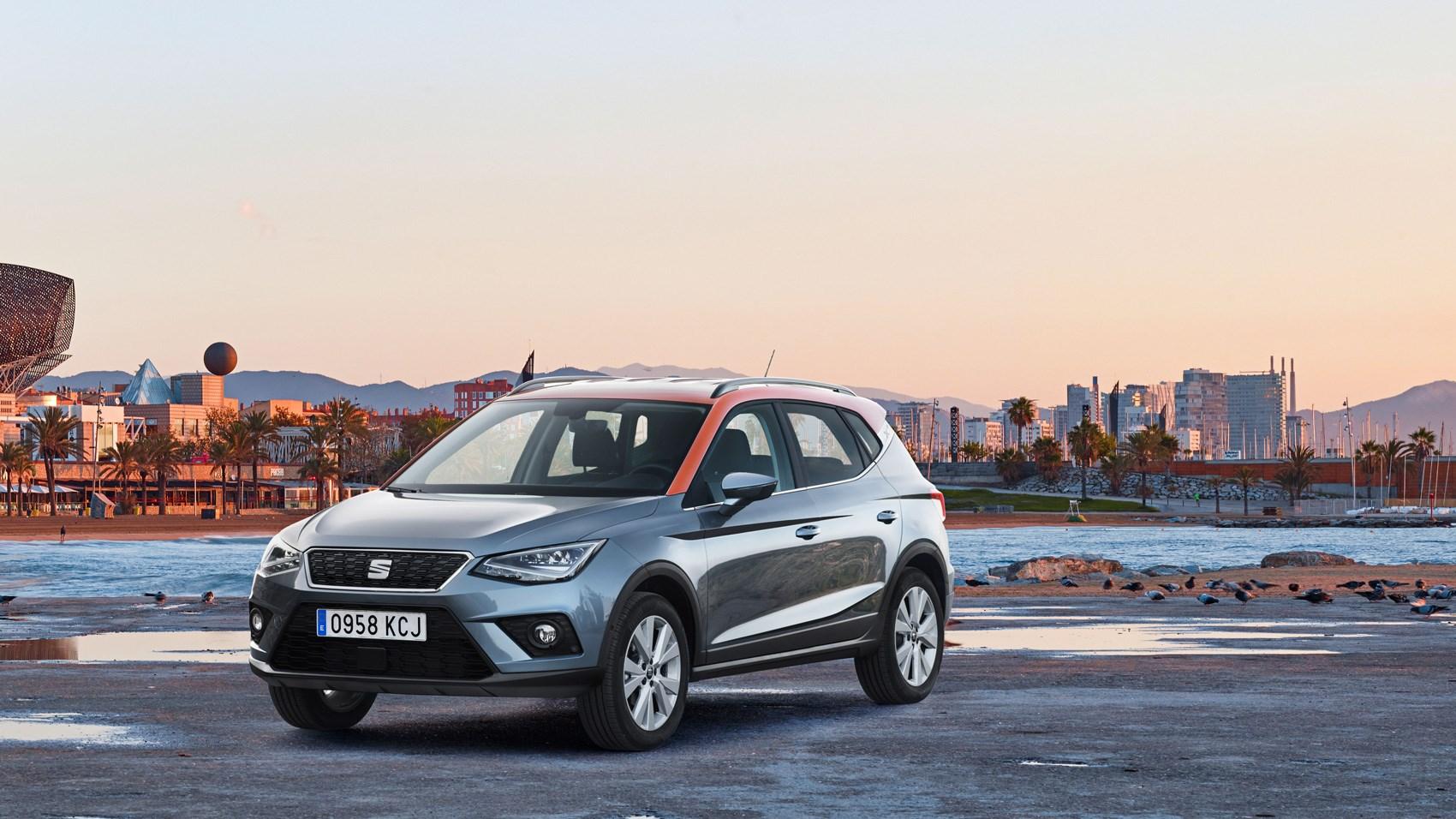 Seat Arona 1 0 Se Technology 2017 Review Car Magazine