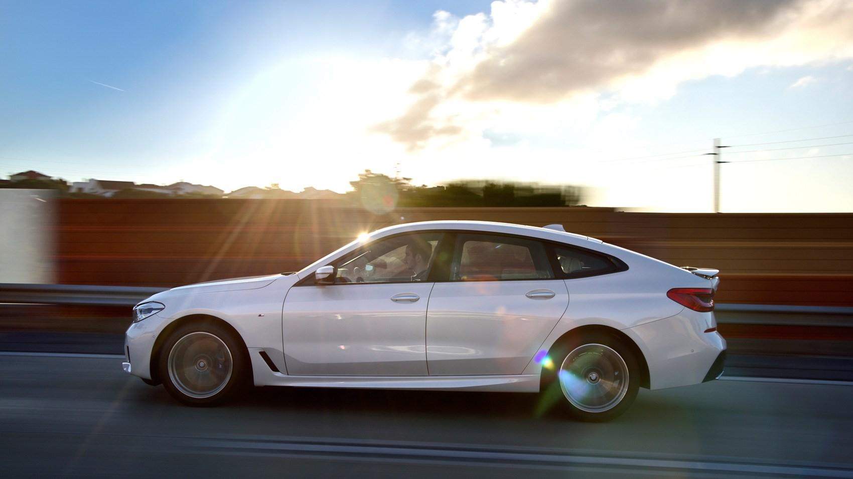 BMW 6 GT side panning