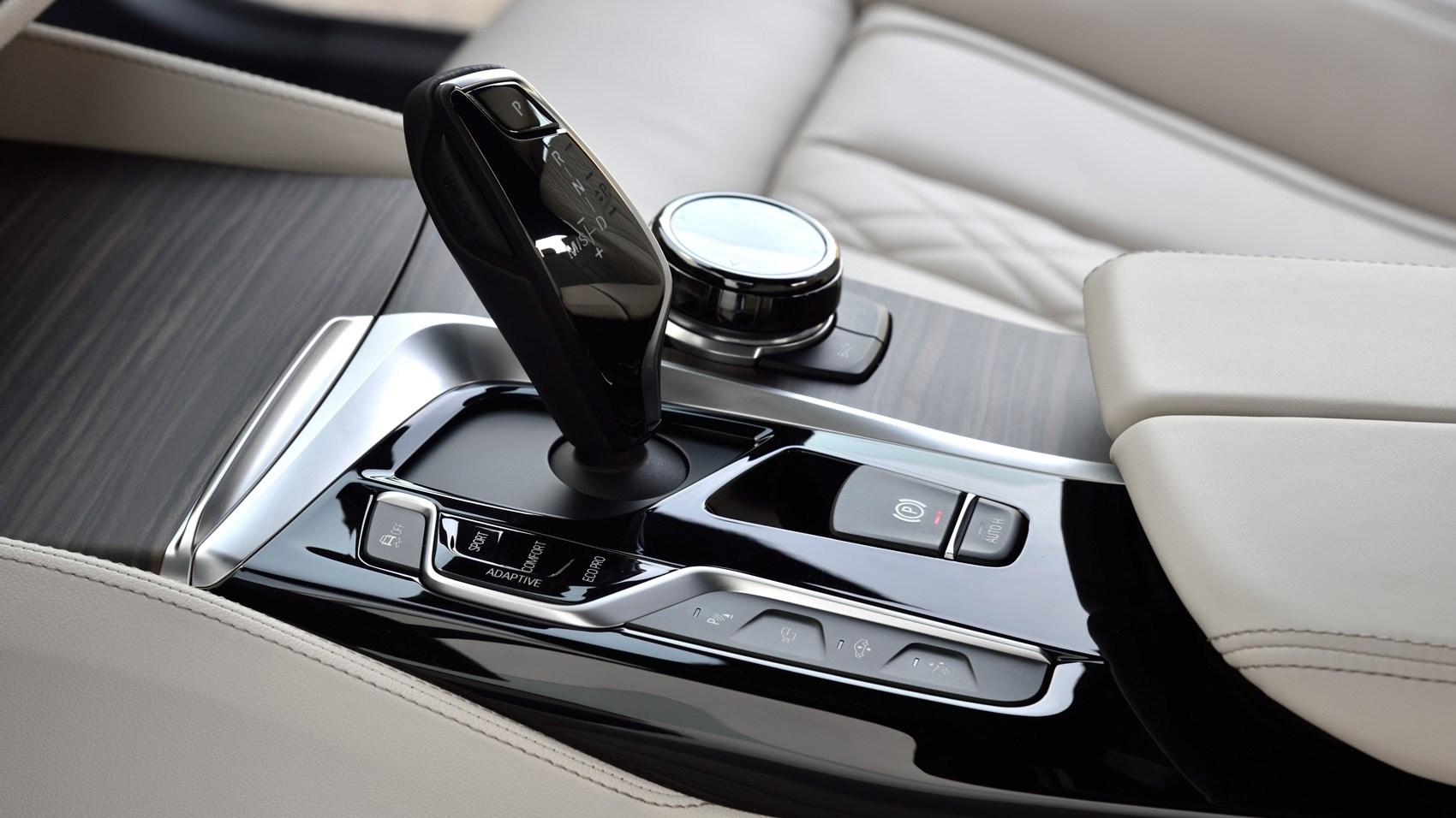 BMW 6 GT gearlever