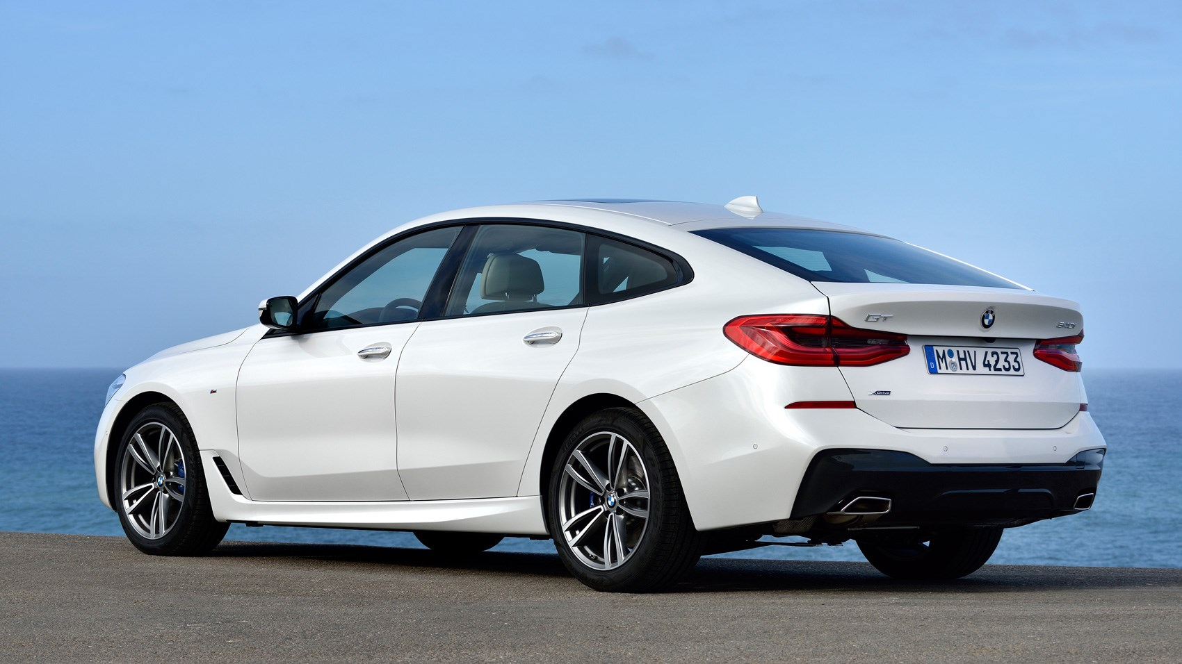 BMW 6 GT Rear Quarter