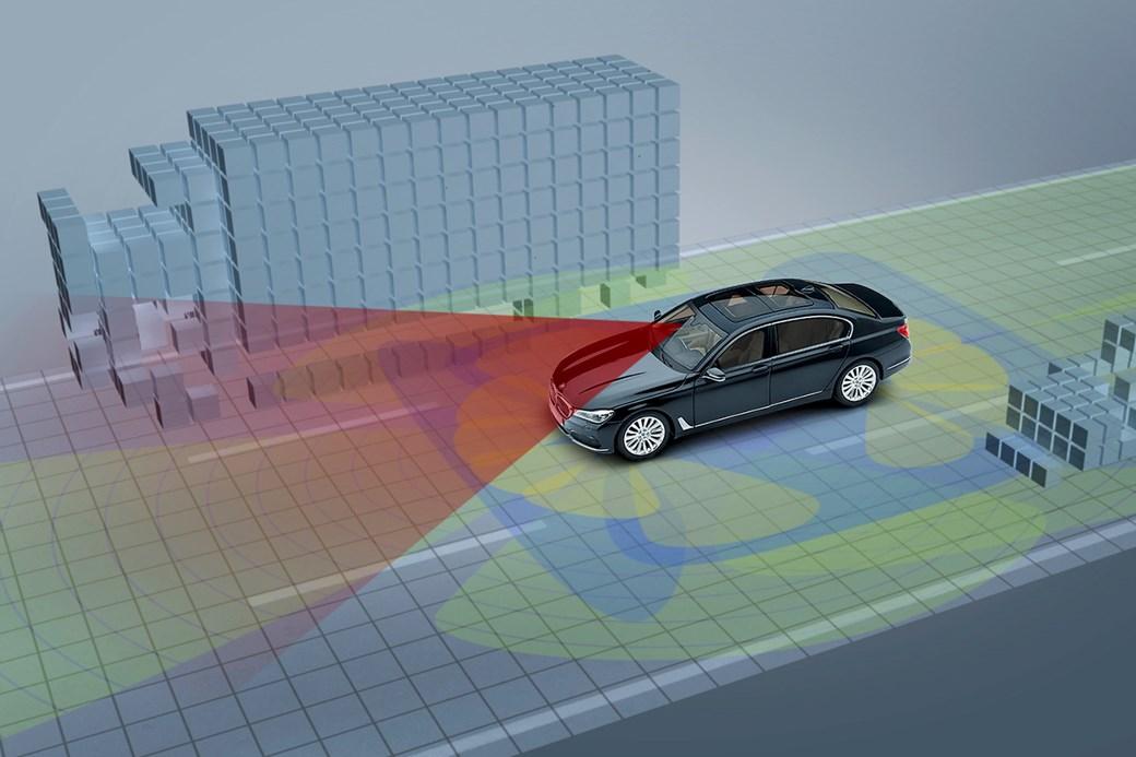 BMW radar
