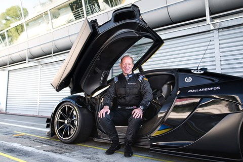 Mike Flewitt, McLaren CEO