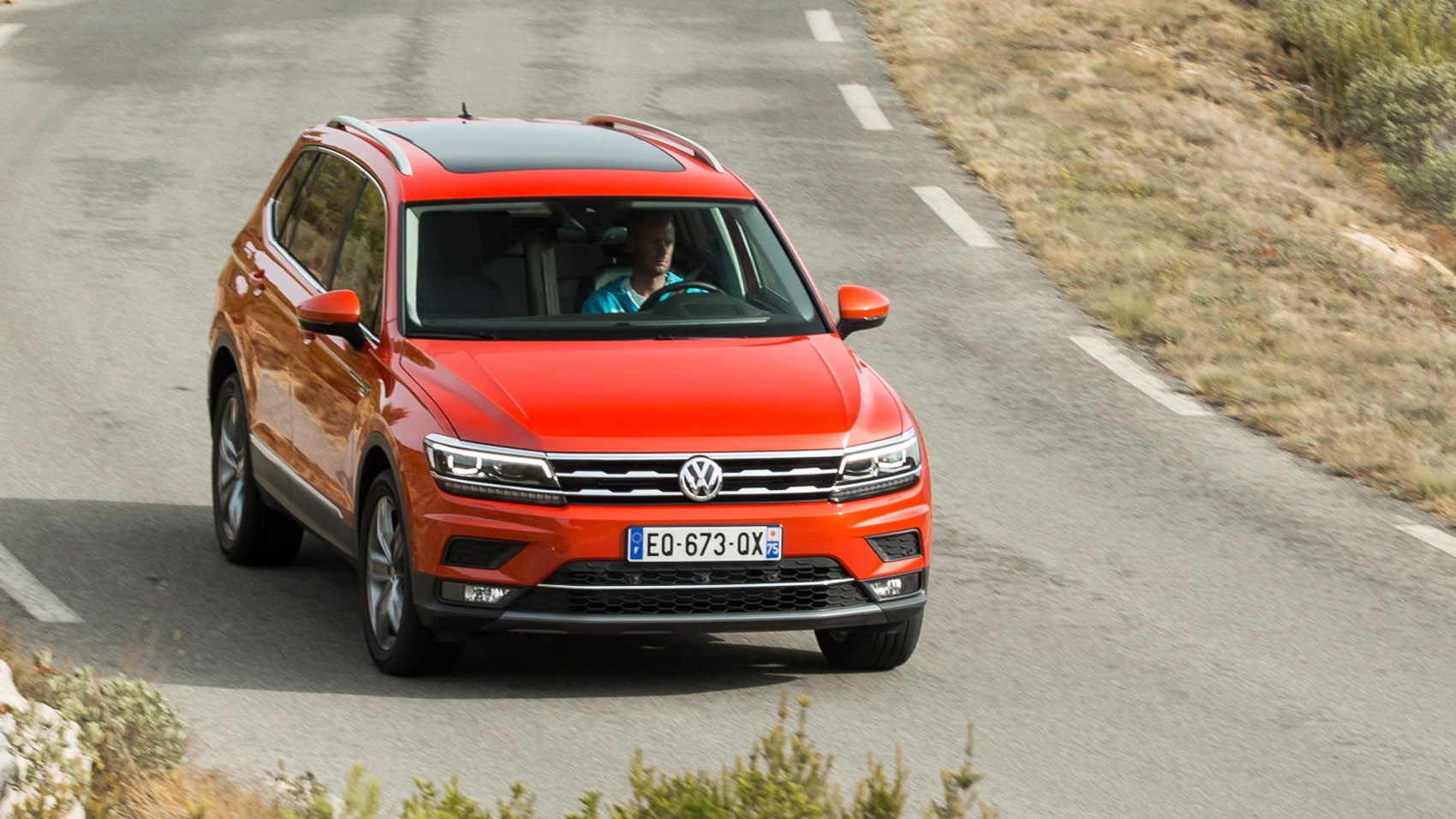 vw tiguan allspace 2017 review by car magazine. Black Bedroom Furniture Sets. Home Design Ideas