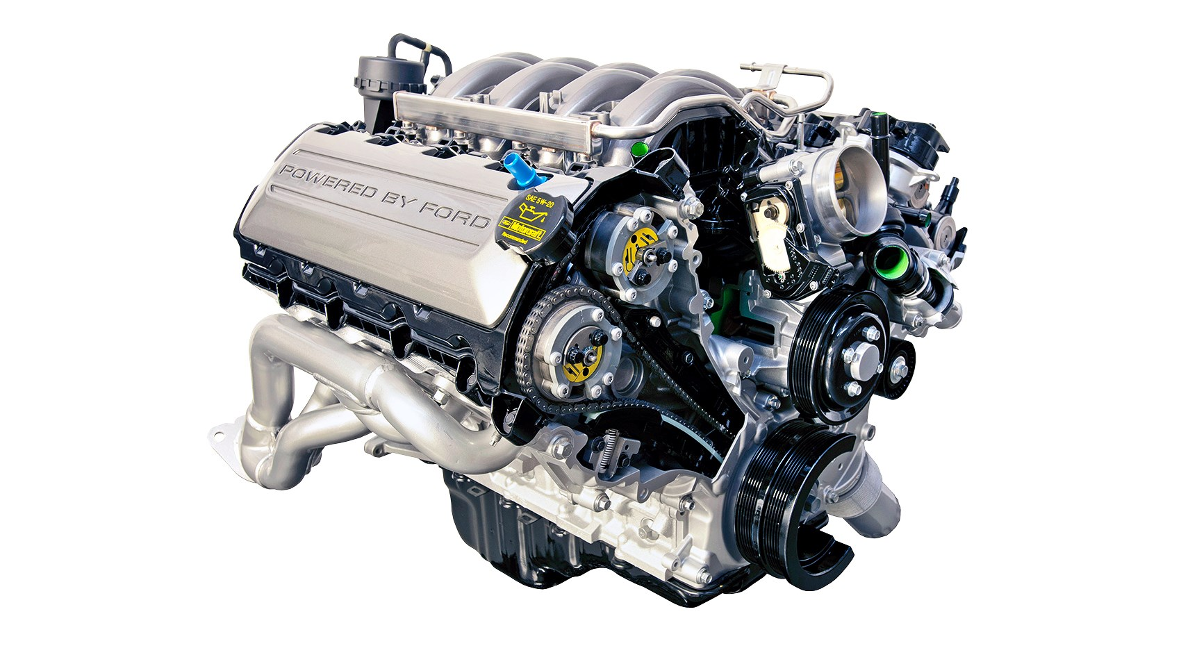 petrol ford engines v8 mustang