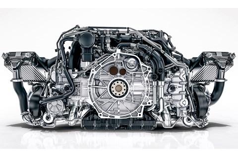 Porsche GT3 flat six