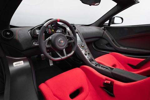 McLaren MSO R interior