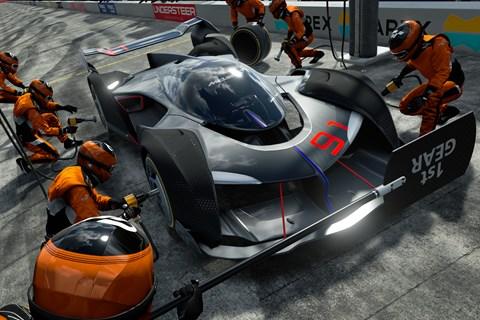 GT Sport pit lane