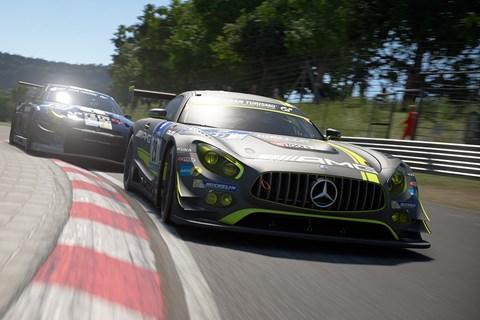 GT Sport Nurburgring Mercedes
