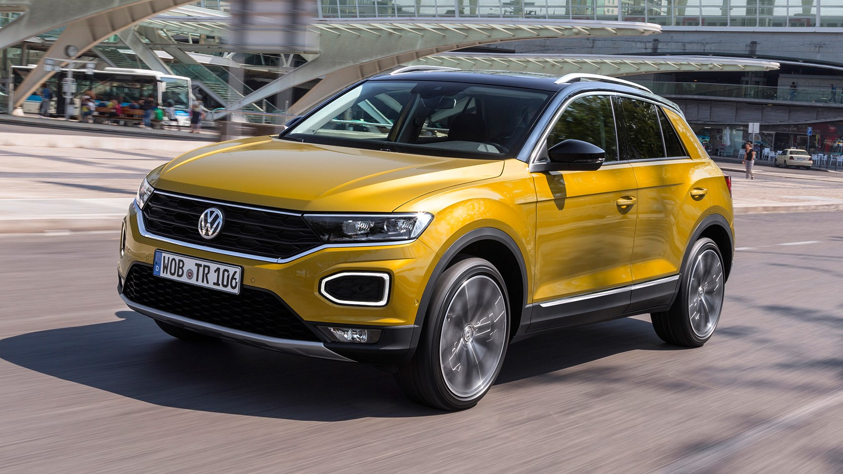 Volkswagen T Roc Review >> VW T-Roc SUV (2017) review by CAR Magazine