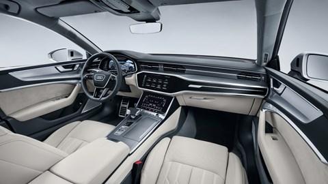 Audi A7 2018 interior