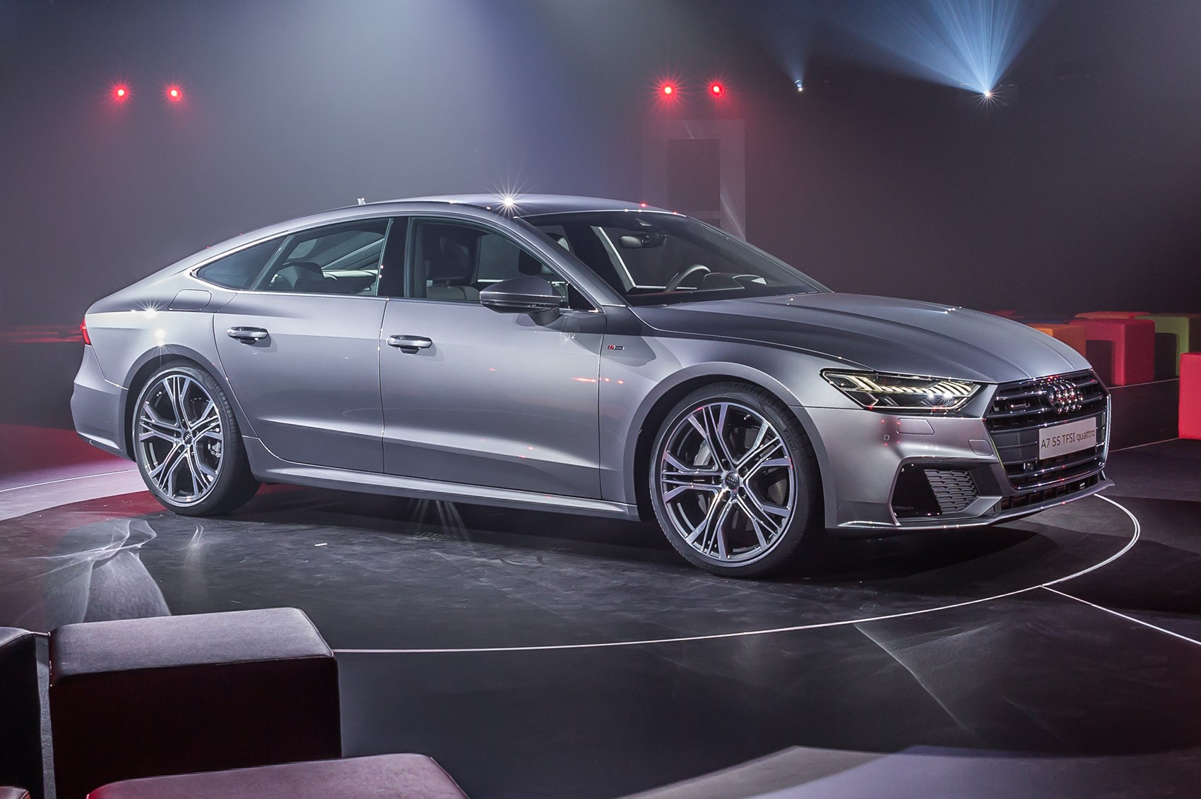 2018 Audi A7 >> First look: 2018 Audi A7 – the A8's sleek and sporty new ...
