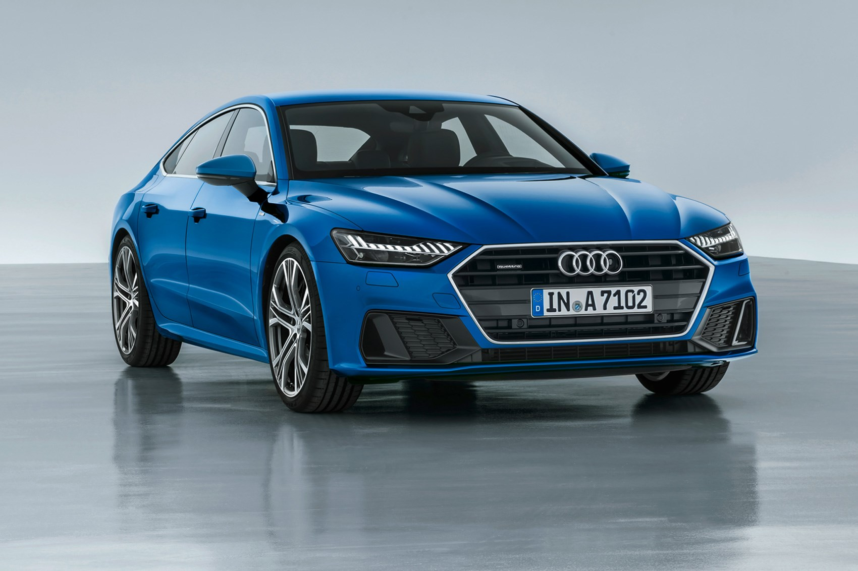 First Look Audi A The As Sleek And Sporty New Sibling - Audi car 2018