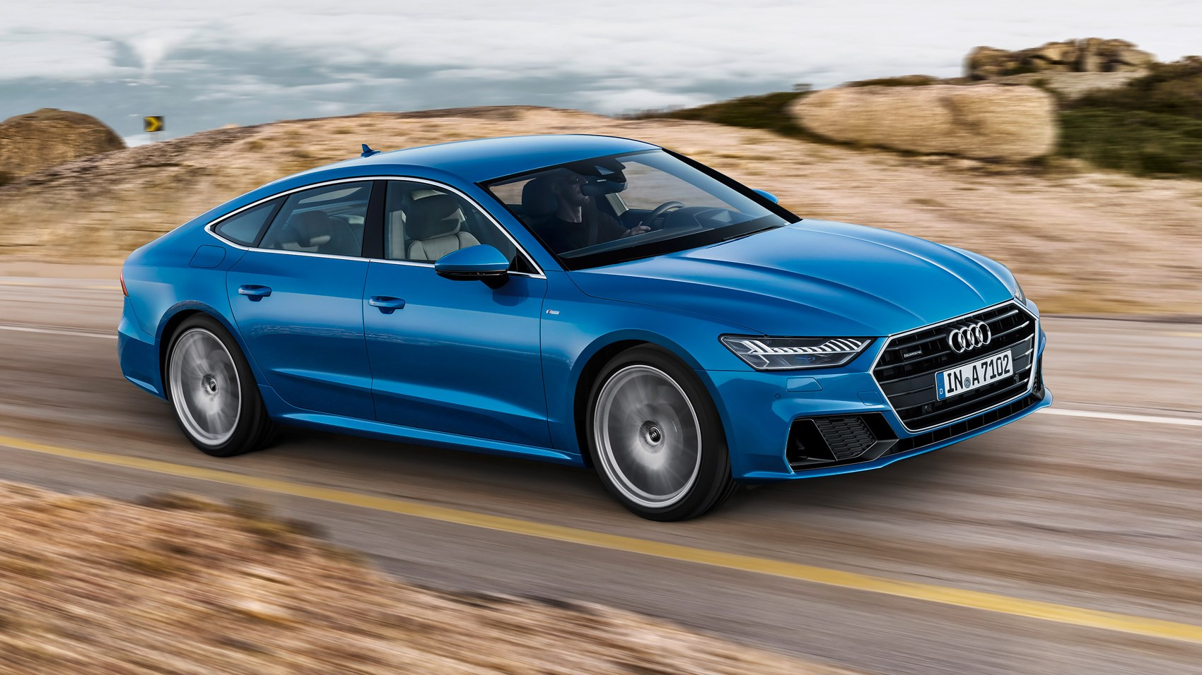 First Look Audi A The As Sleek And Sporty New Sibling - How much does an audi a7 cost