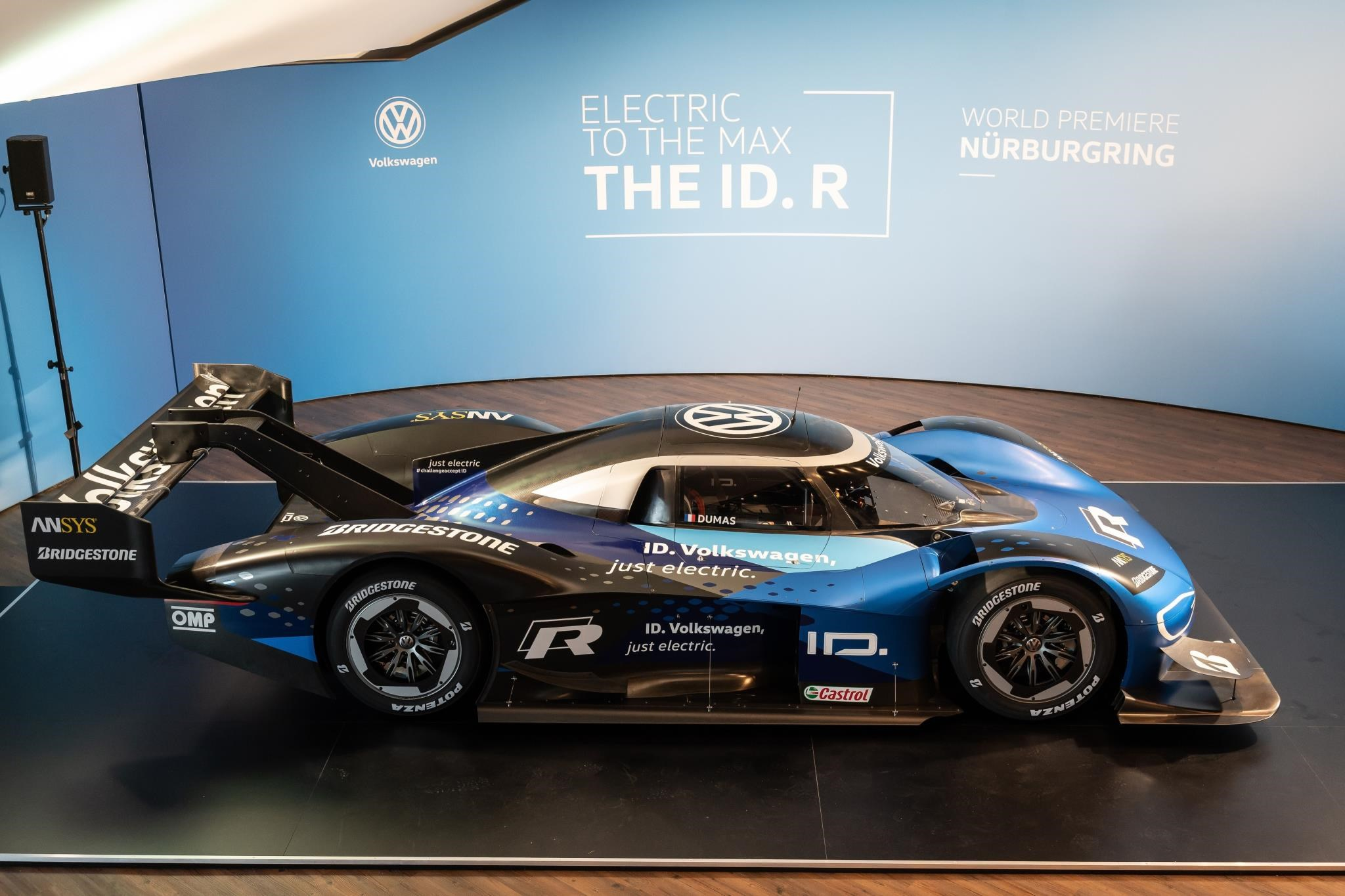 The New 2019 Volkswagen Id R Race Car Is Gunning For Ring Record