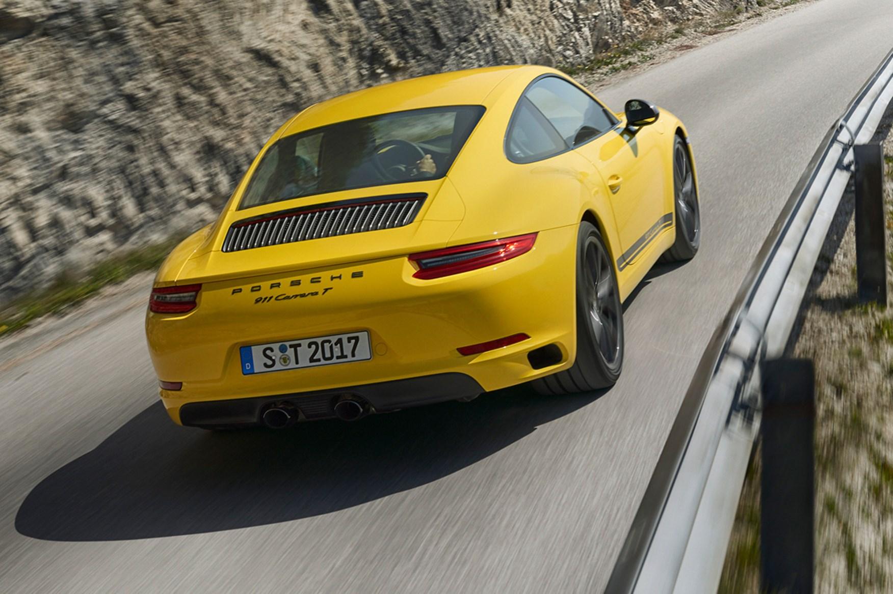 2018 Porsche 911 Carrera T New 911 Carrera T Photos Info