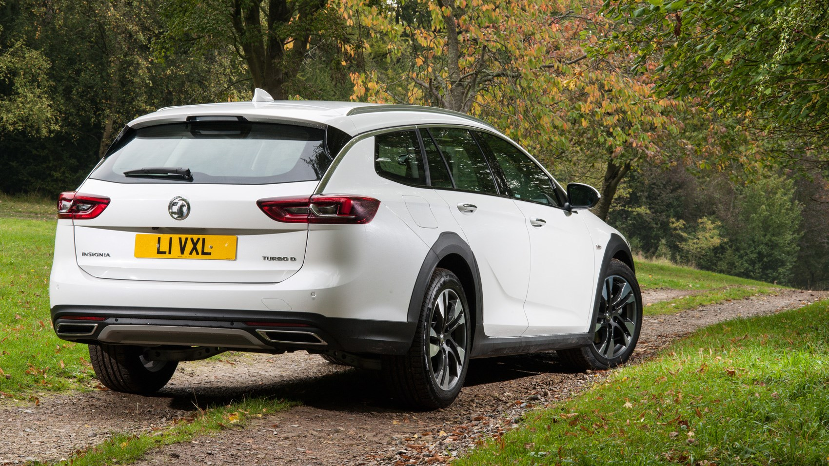 Vauxhall Insignia Country Tourer rear quarter