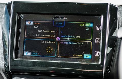 Suzuki Swift long-term infotainment