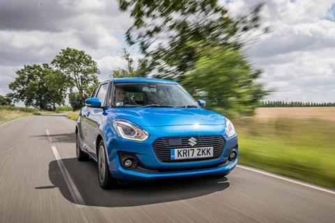 Suzuki Swift long-term front tracking