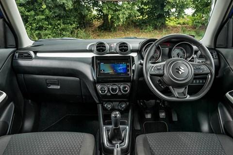 Suzuki Swift long-term interior