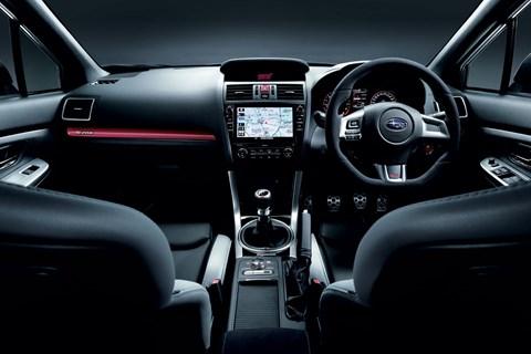Inside the Subaru WRX STI S208
