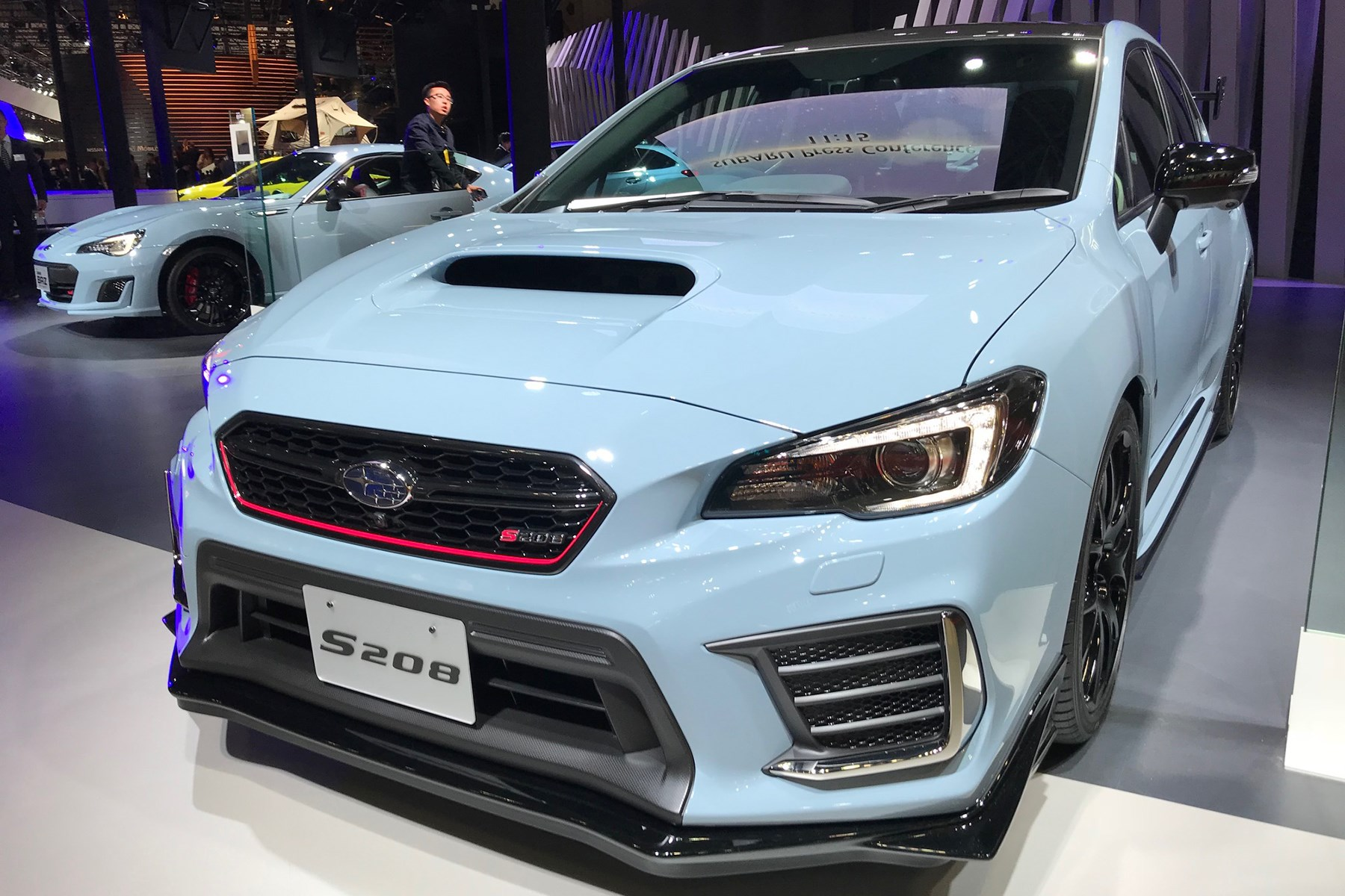 Subaru Wrx Sti S208 New Highly Tuned Is Limited To 450 Cars