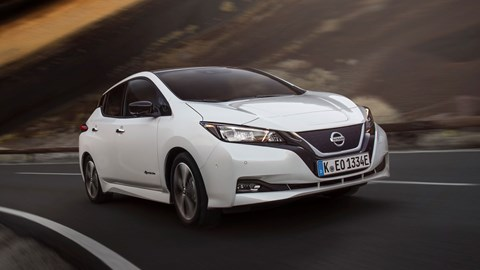 New Nissan Leaf Review The Whole Range Driven Car Magazine