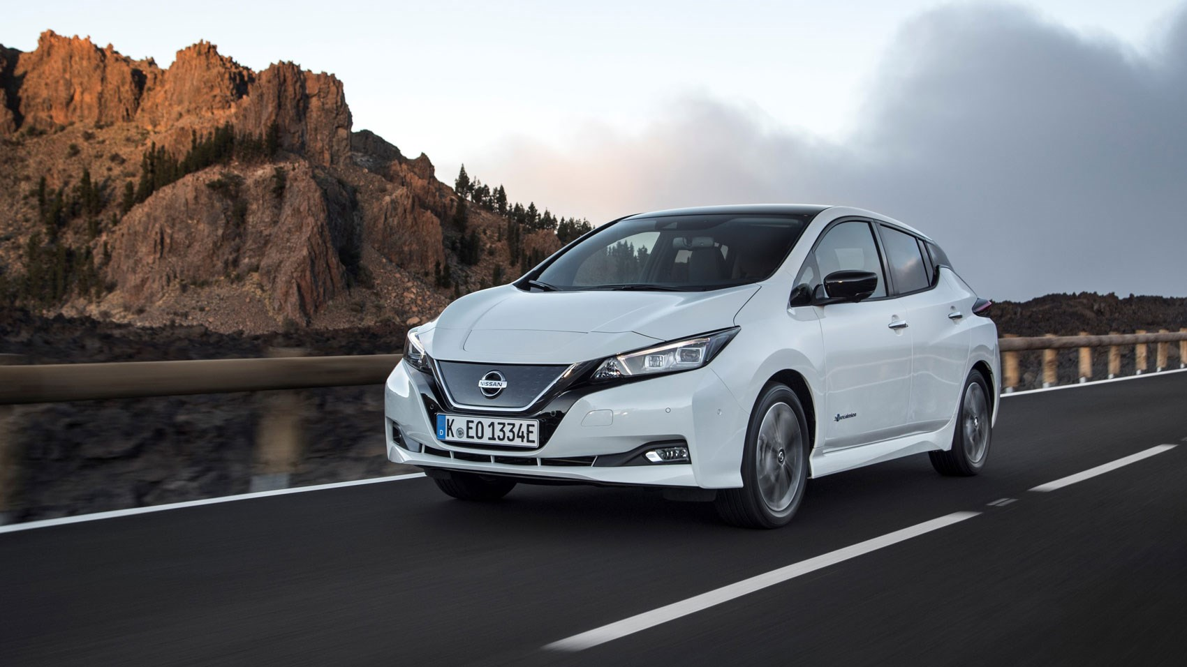 new nissan leaf review  the whole range driven