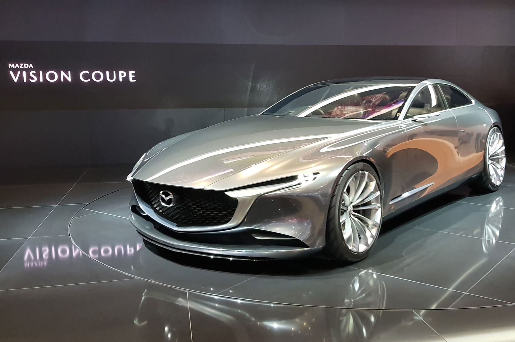 mazda vision coupe graces 2018 geneva show with its presence car magazine. Black Bedroom Furniture Sets. Home Design Ideas