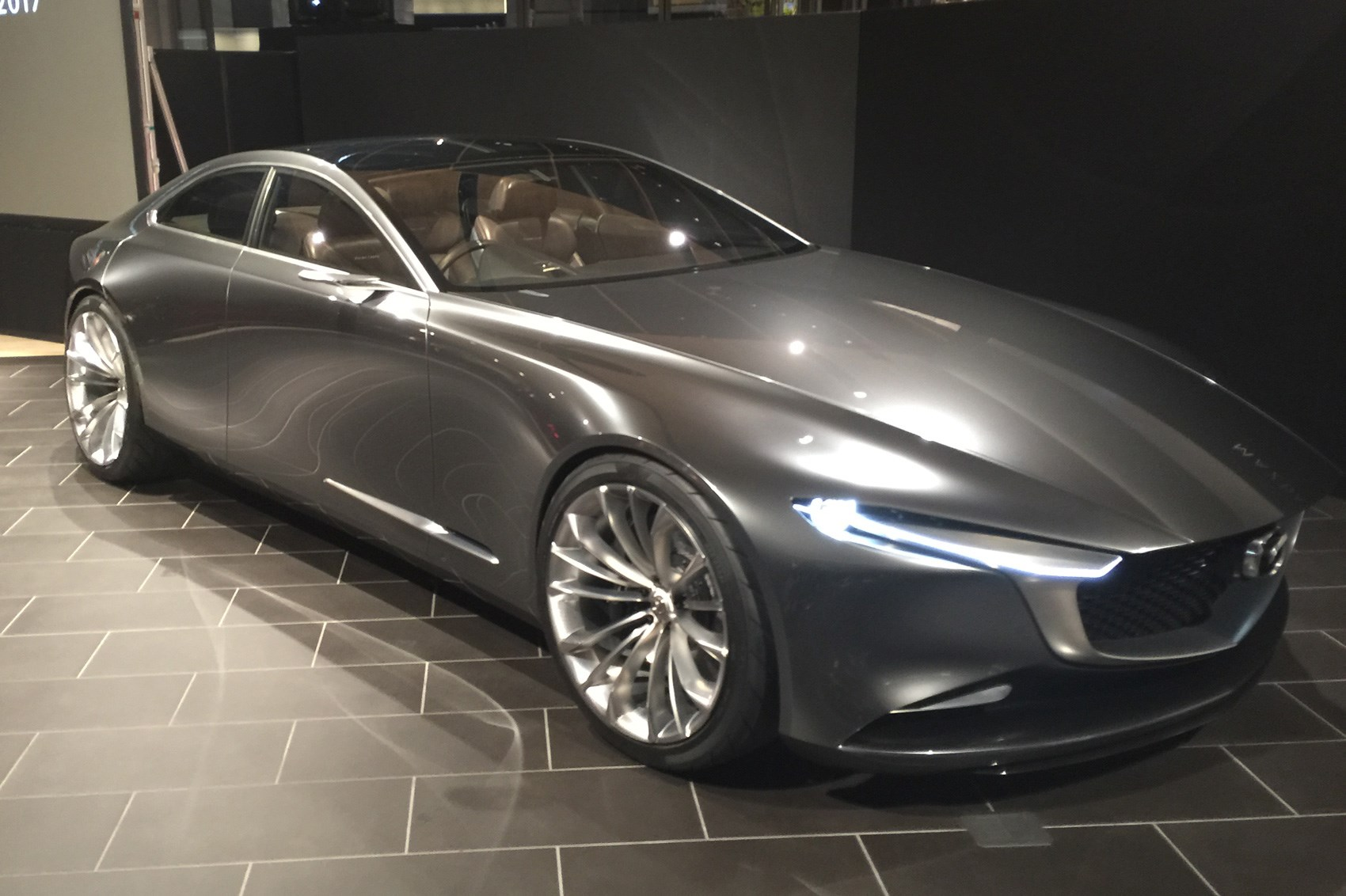 Mazda Goes Subtle With Vision Coupe At Tokyo 2017 By Car