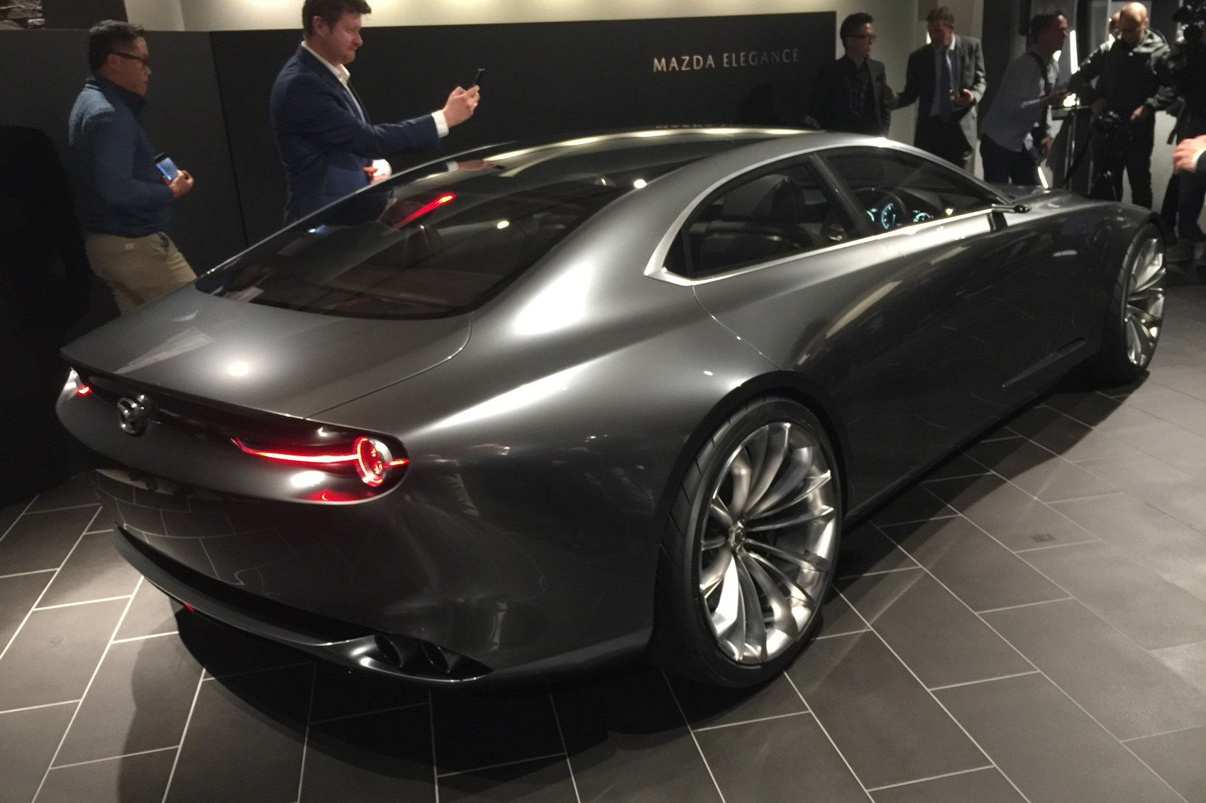 mazda goes subtle with vision coupe at tokyo 2017 by car magazine. Black Bedroom Furniture Sets. Home Design Ideas