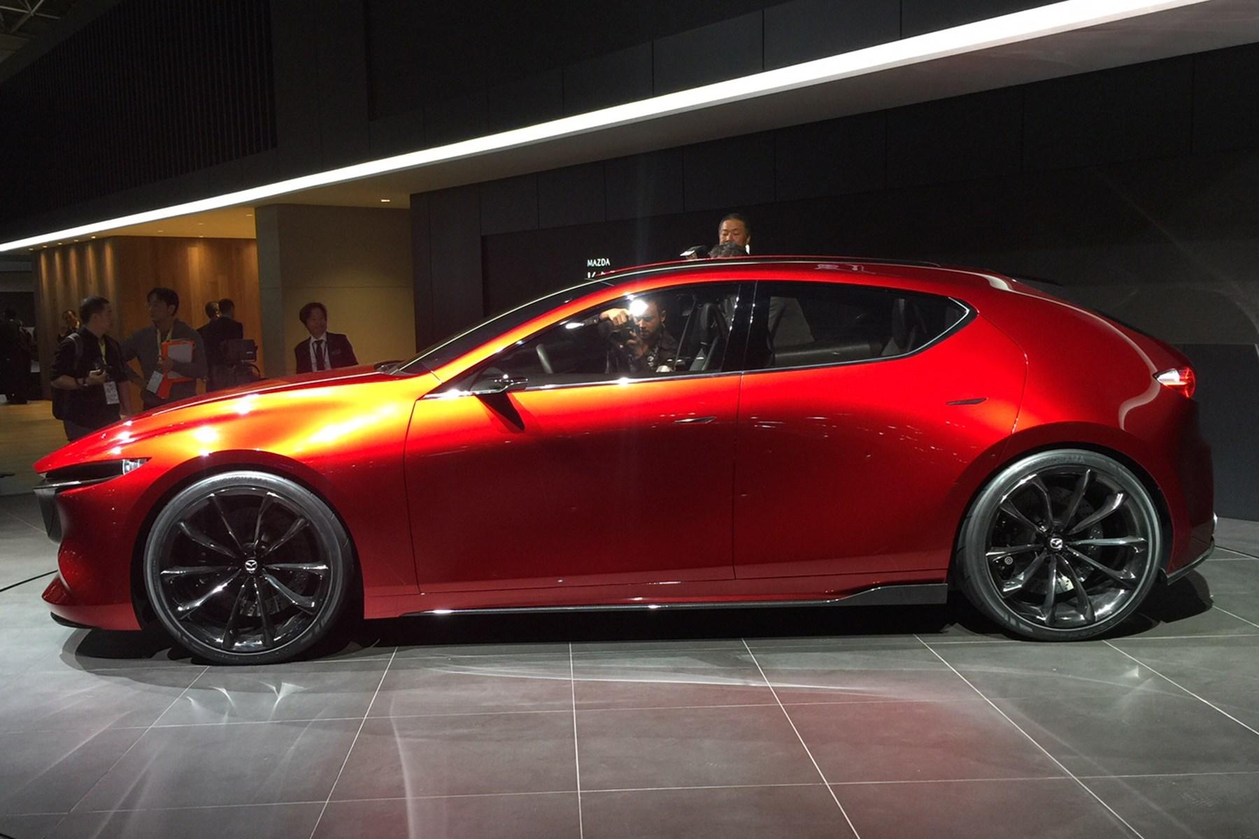 ... Mazda Kai Concept At The Tokyo Motor Show 2017 ...
