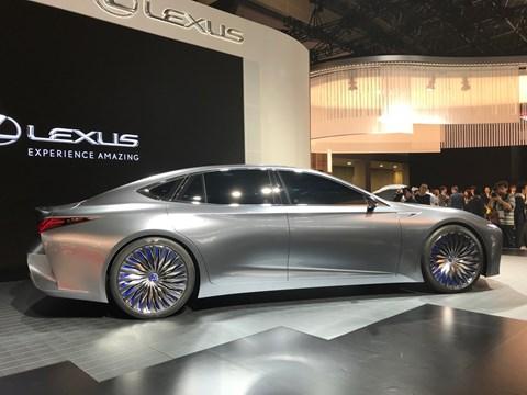 Lexus LS+ Concept at Tokyo 2017