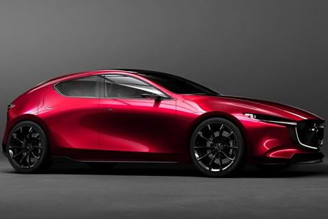 Mazda Kai concept front quarter