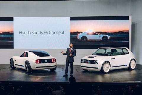 Honda Sports EV and Urban EV