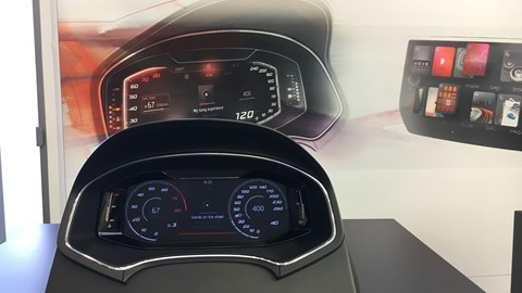 New SEAT digital instrument cluster coming 2018