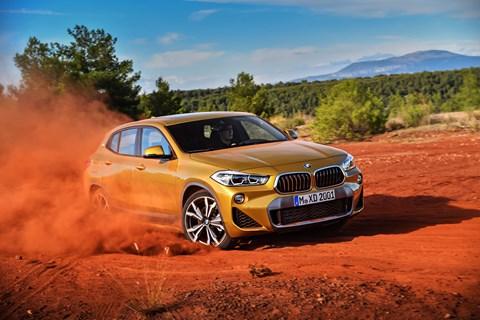BMW X2 off-road