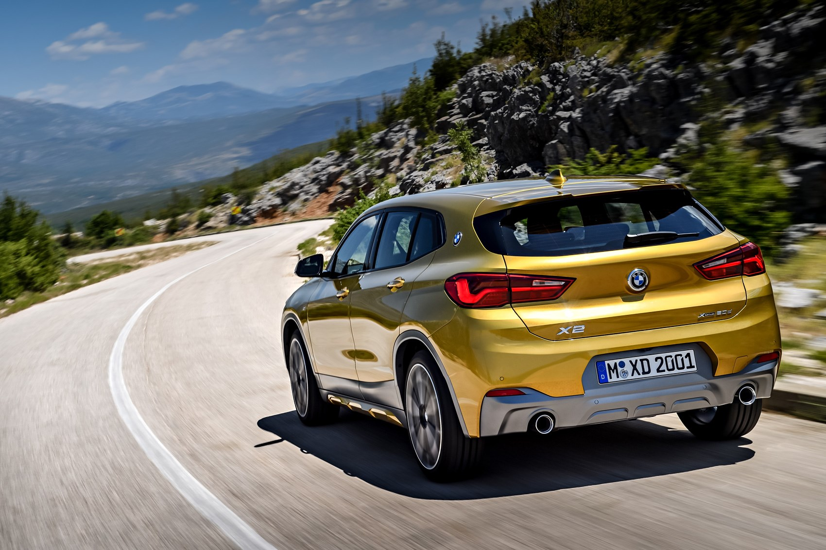 bmw x2 suv new crossover dubbed 39 the cool x 39 revealed by car magazine. Black Bedroom Furniture Sets. Home Design Ideas