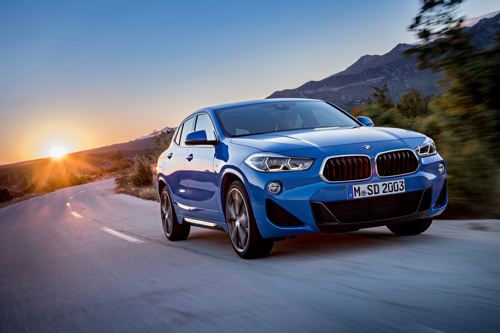 bmw x2 suv new crossover dubbed 39 the cool x 39 revealed car magazine. Black Bedroom Furniture Sets. Home Design Ideas