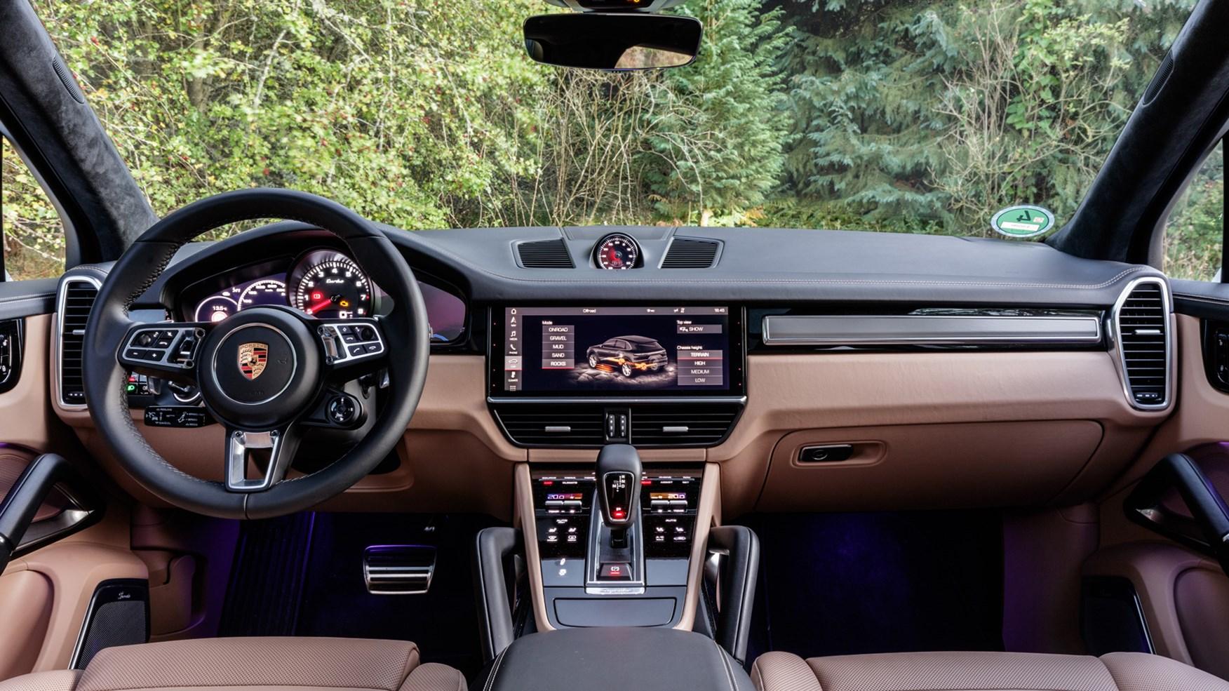 Porsche Cayenne Turbo 2017 Review Car Magazine