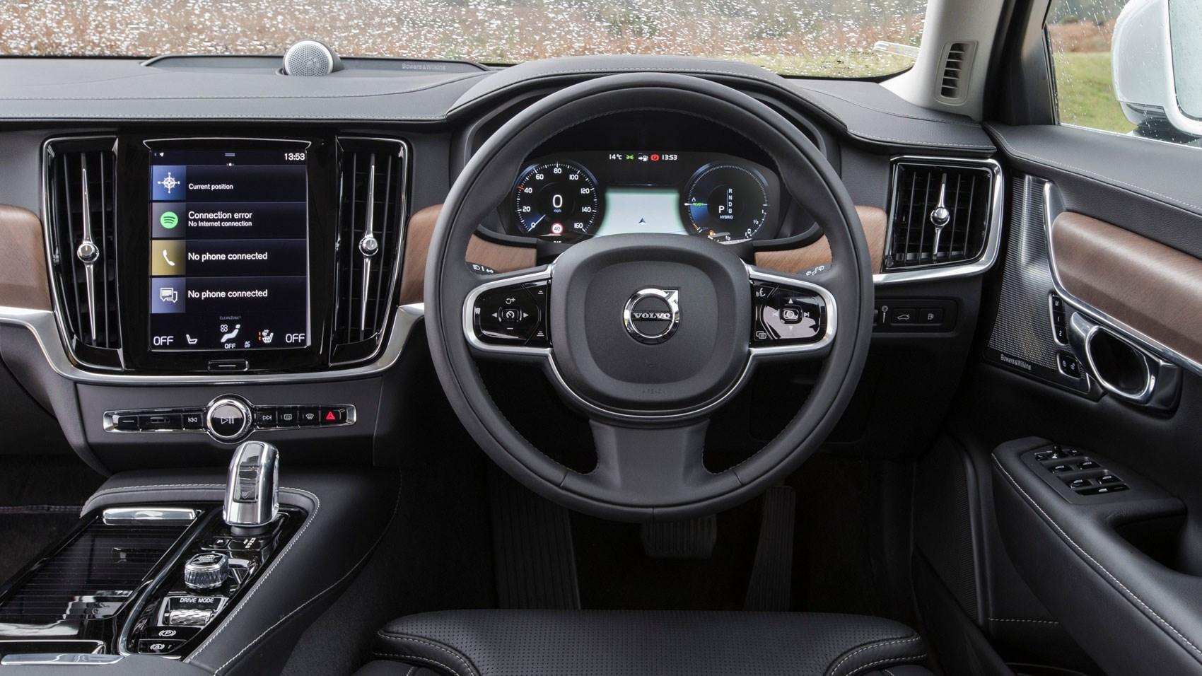 volvo v90 t8 twin engine 2017 review by car magazine. Black Bedroom Furniture Sets. Home Design Ideas