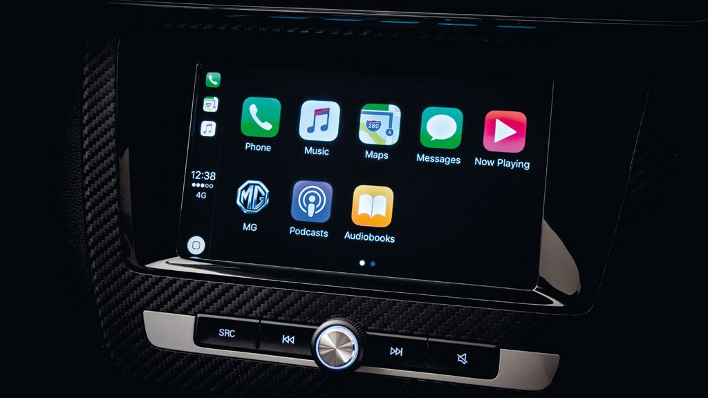 Apple CarPlay on the MG ZS