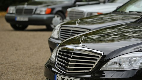 The S-class title officially debuted in 1972