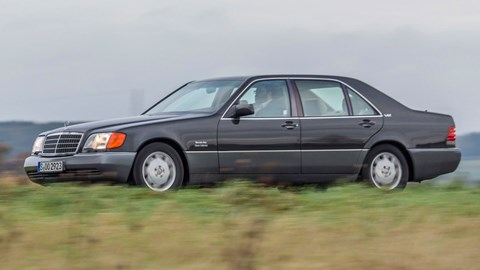 Slab-sided W140 S-Class a huge leap forward from the car it replaced