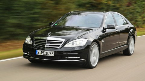 2005-13 W221: a prouder kind of S-class, with bold wheelarches