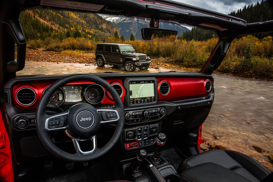 new jeep wrangler the go anywhere suv reborn for 2018 arrives inPimped Red Jeep Rubicon #18