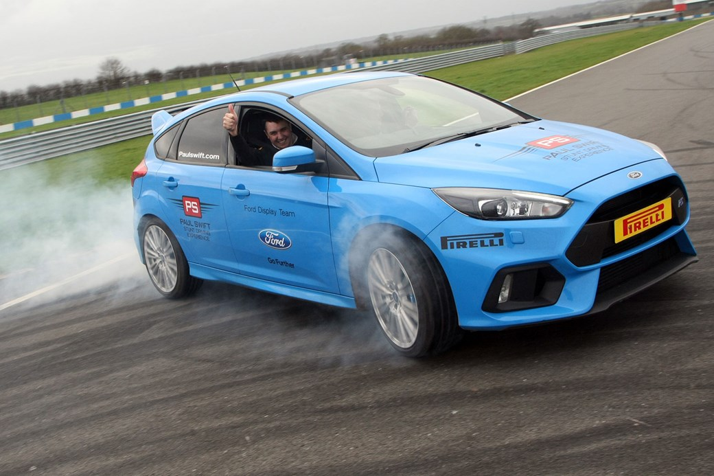 Ford Performance Drift Stick Handbrake Announced For Ford Focus Rs