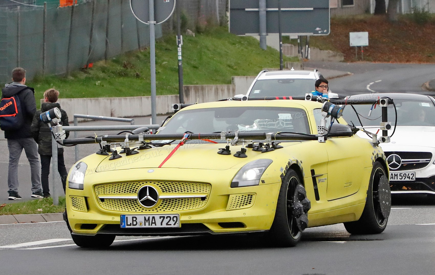 Mercedes Sls E Cell On Test This Week In Germany