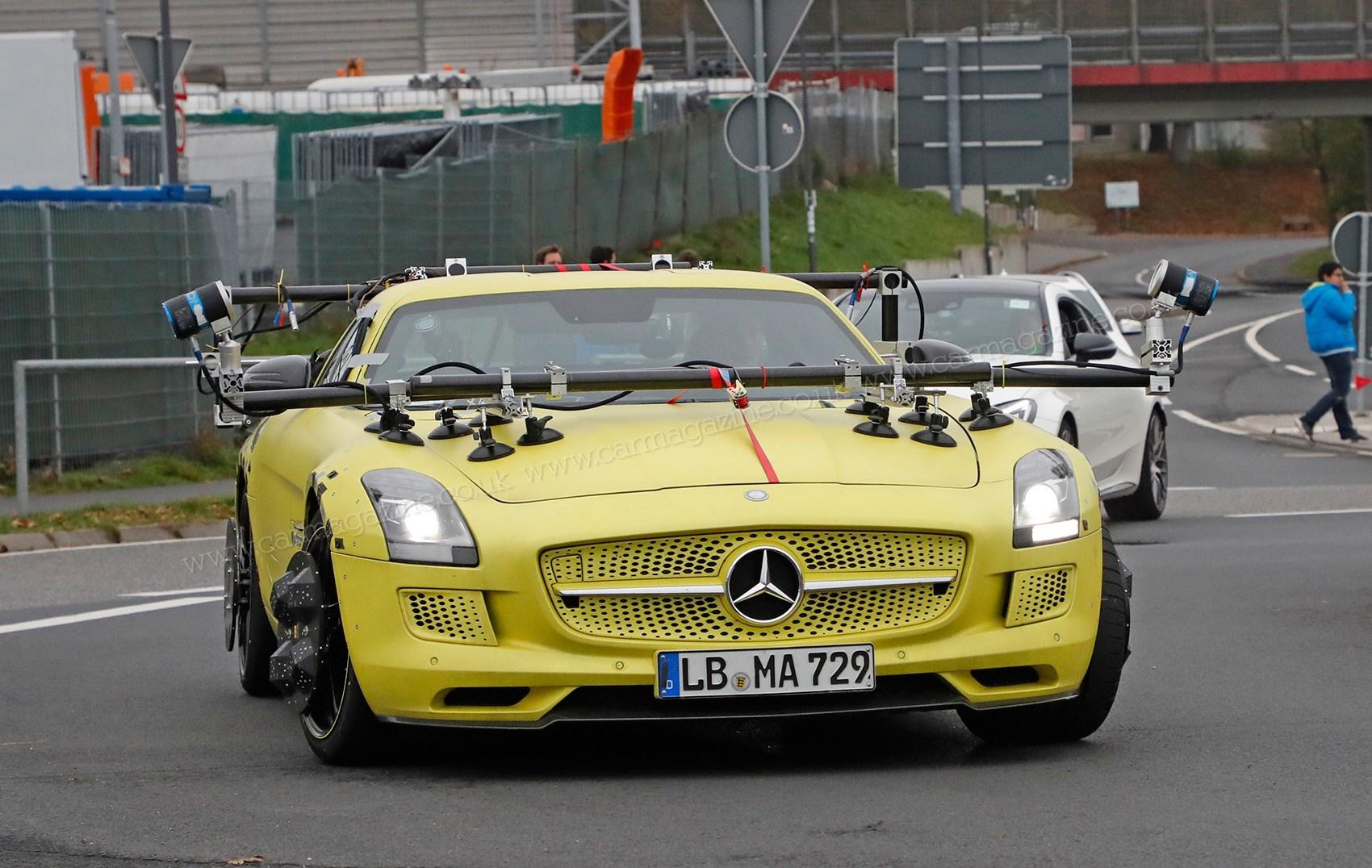 Mercedes sls electric